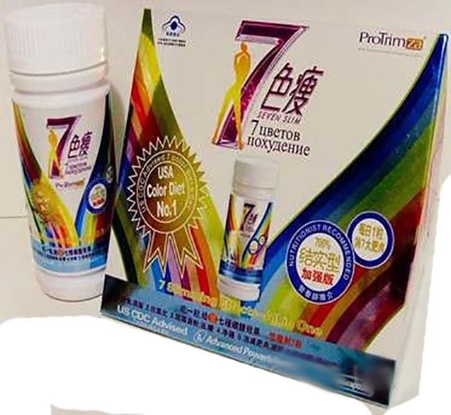 Препарат для похудения «Семь цветов похудения»